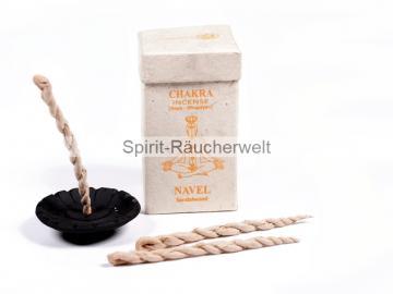 Nepal Räucherschnüre – Navel Chakra - Sandelholz