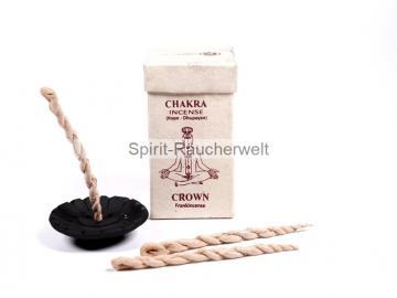 Nepal Räucherschnüre – Crown Chakra - Weihrauch