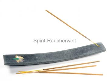Lotus - Speckstein Räucherstäbchenhalter