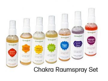 7er-Set Lufterfrischer Chakra - Aromafume