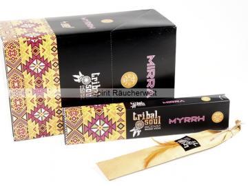 Myrrh - Tribal Soul Räucherstäbchen naturrein | Hari Darshan