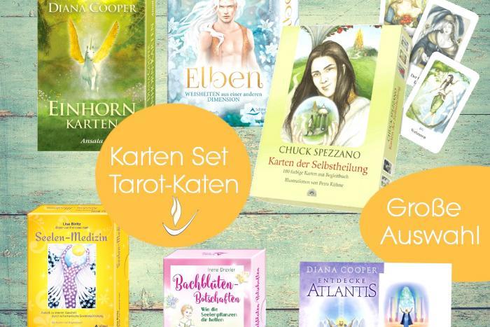 Kartenset spirituell  - esoterik -  Schirner Verlag - Tarot Karten kaufen