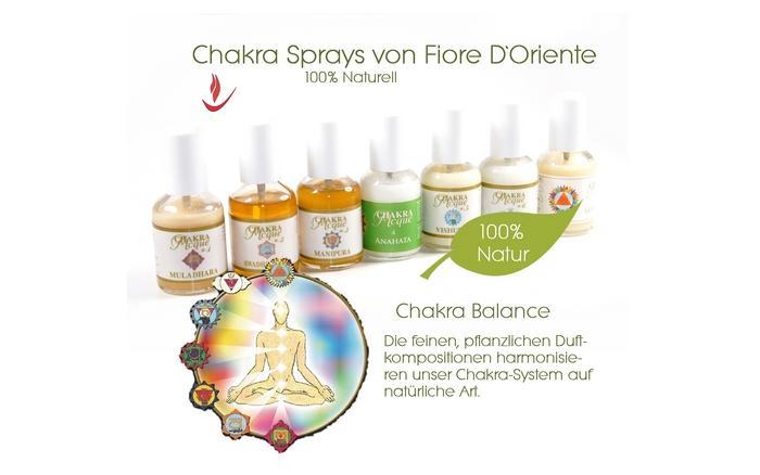 Chakra Spray von Fiore D Oriente - Anwendung