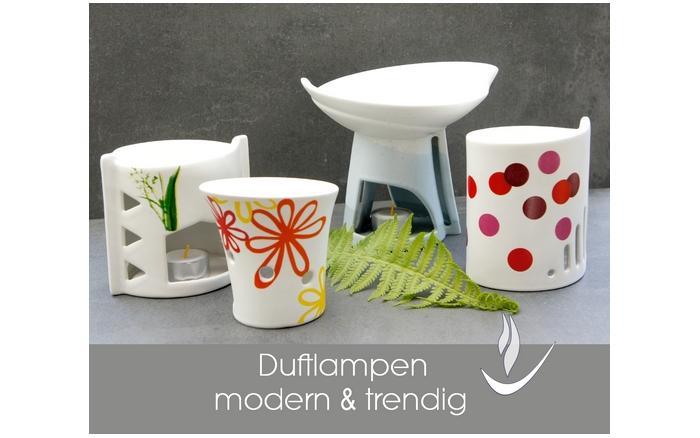 Duftlampen keramik - modern mit grou00dfer schale