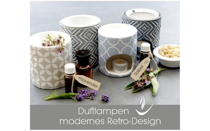 Duftlampe Keramik - retro Design