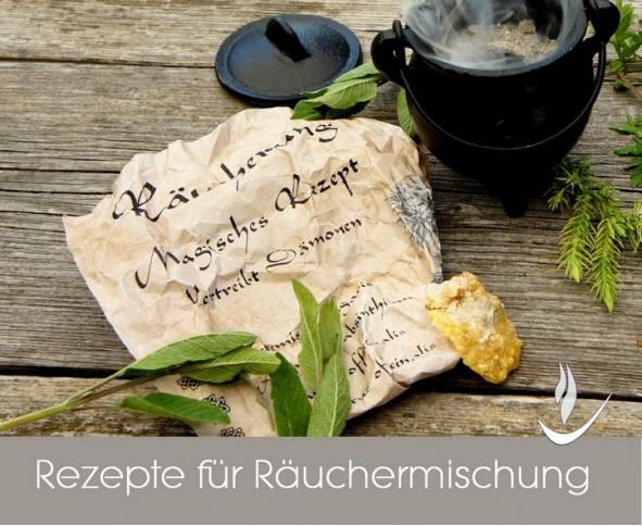 Rezepte für reinigende Räuchermischung