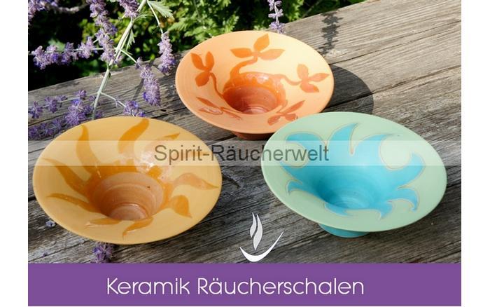 Ru00e4ucherschale aus Keramik
