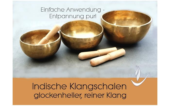 Indische Klangschalen aus Messing - faire Trade