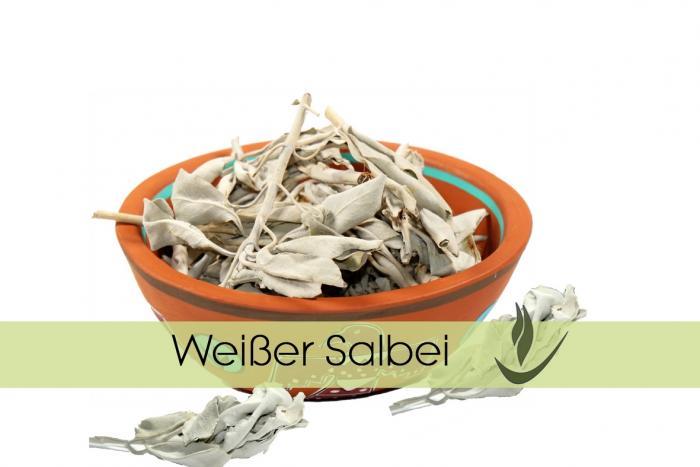 Weißer Salbei + Sweetgras zum Räuchern kaufen