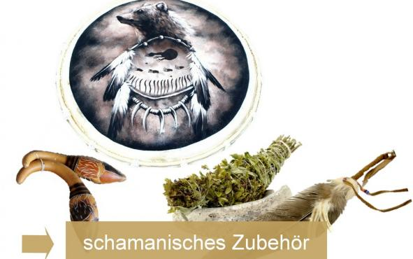 Schamanentrommel & schamanisches Zubehu00f6r