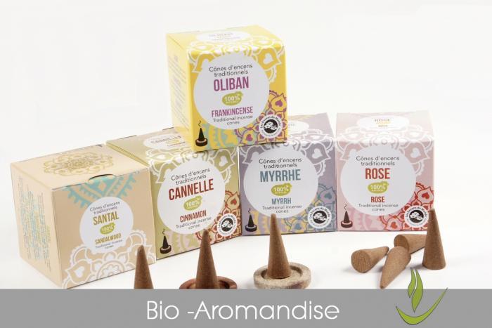 Bio Räucherkegel - Aromandise - kaufen