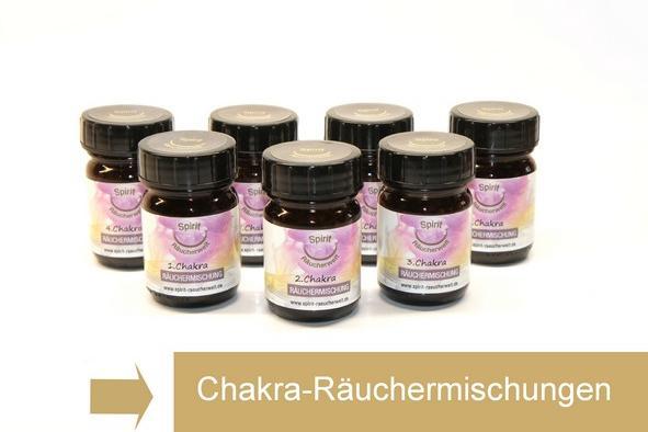 Chakra & Lichtku00f6rper Ru00e4uchermischung