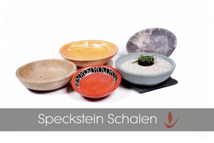 Speckstein Räucherschalen