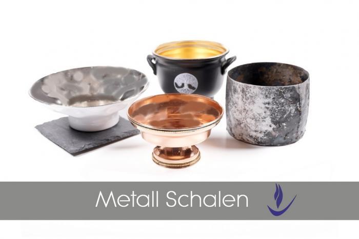 Räucherschalen aus Metall