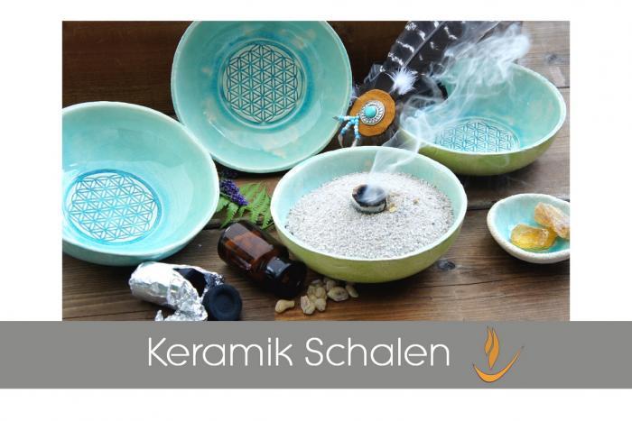 Keramik Räucherschalen