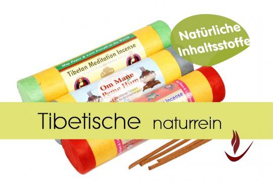 tibetische Räucherstäbchen naturrein