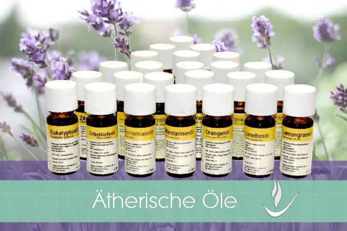 Naturreine Ätherische Öle für Aromatherapie + Wellness