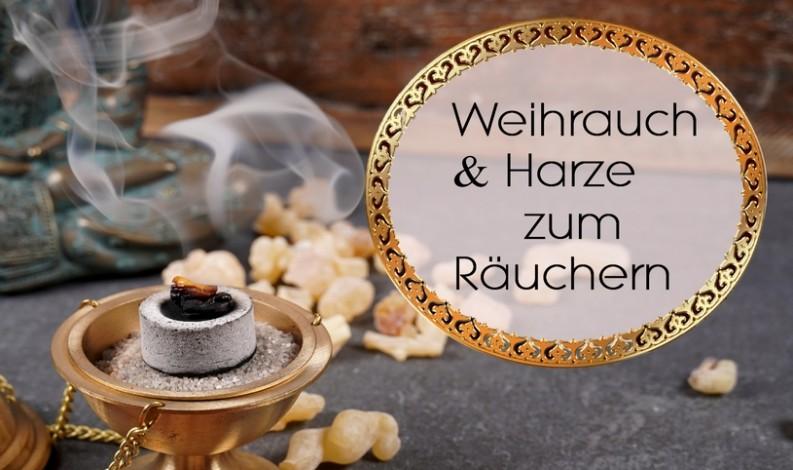 Weihrauch & Harze räuchern